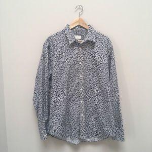 Men's  Club Monaco casual button-down shirt